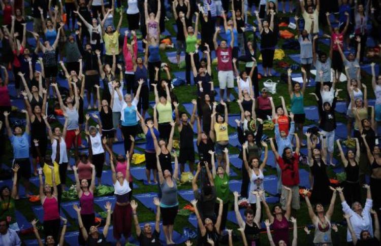 Лучшие преподаватели йоги дадут бесплатные уроки всем желающим
