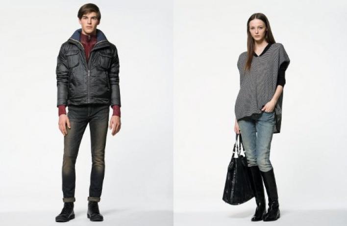 Обновленные джинсы вCK