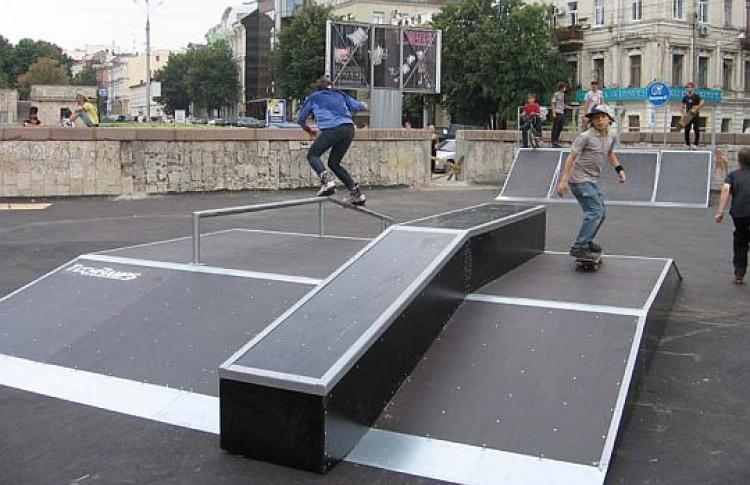 Наюго-востоке построят крупные скейт-площадки