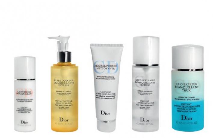 Новая очищающая линия Dior