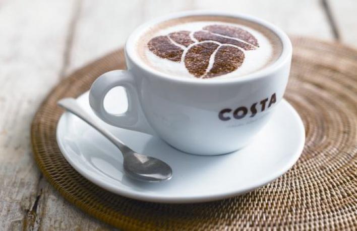 Теплая осень вCosta Coffee