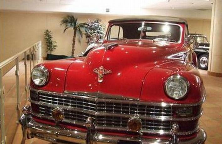 Коллекция старинных автомобилей Князя Монако