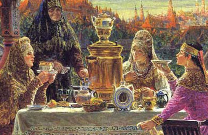 Чаепитие вдворянской усадьбе