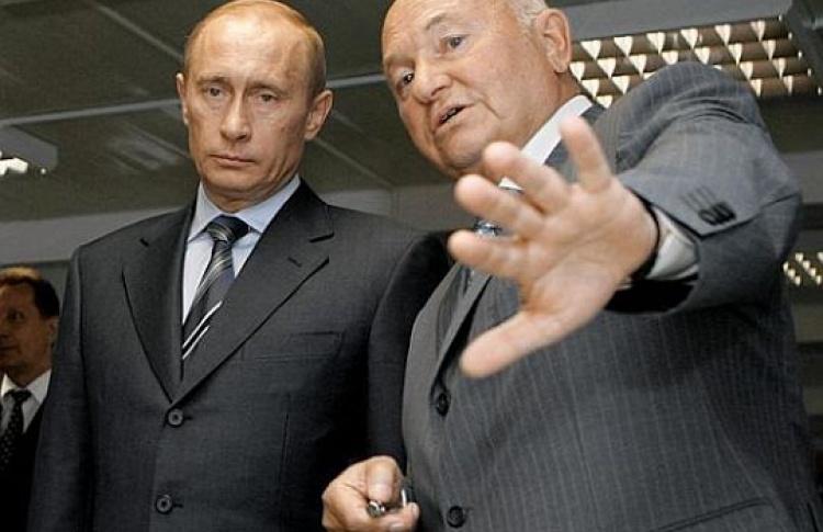 Телеканал НТВ впятницу «мочил» Лужкова
