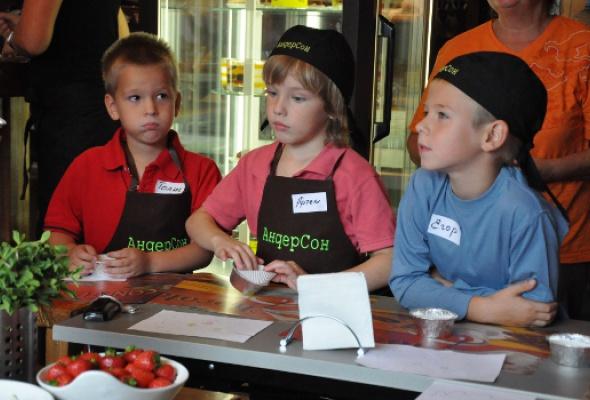 Детский кулинарный мастер-класс - Фото №0