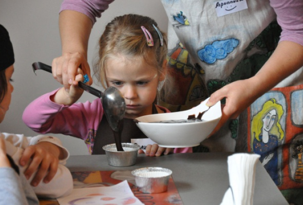 Детский кулинарный мастер-класс - Фото №1