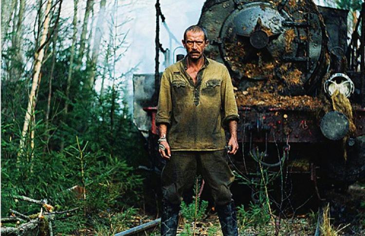 Паровоз Густав— неменее значимый персонаж «Края», чем Игнат Владимира Машкова