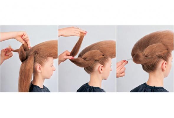 Прическа для длинных волос - Фото №3
