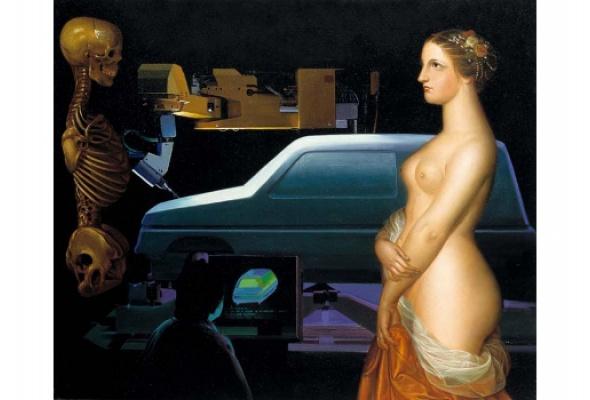 """""""Встреча двух миров"""". Из коллекции Renault Art - Фото №2"""
