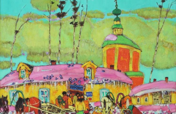 Мастера Владимирской школы живописи