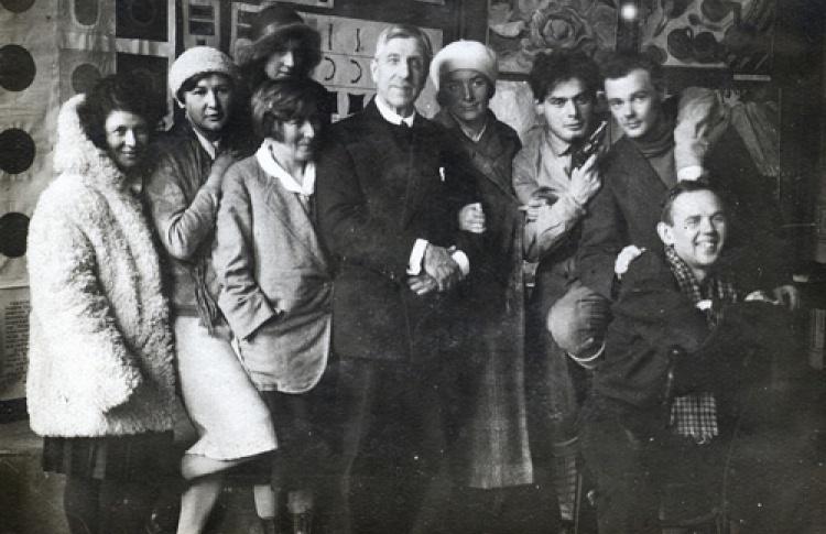 Группа КОРН. 1930. М. В. Матюшин и ученики