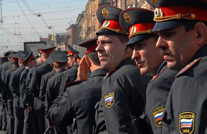 Московскую милицию сократили на12%