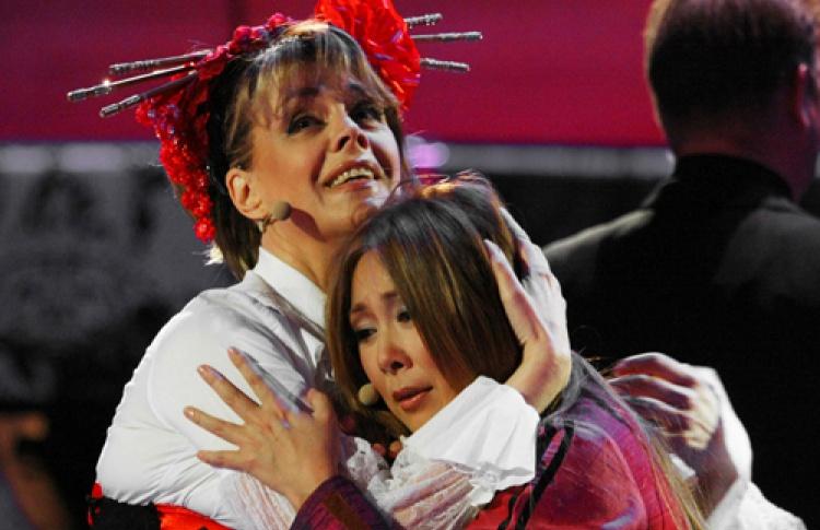 Любовь Казарновская и Анита Цой