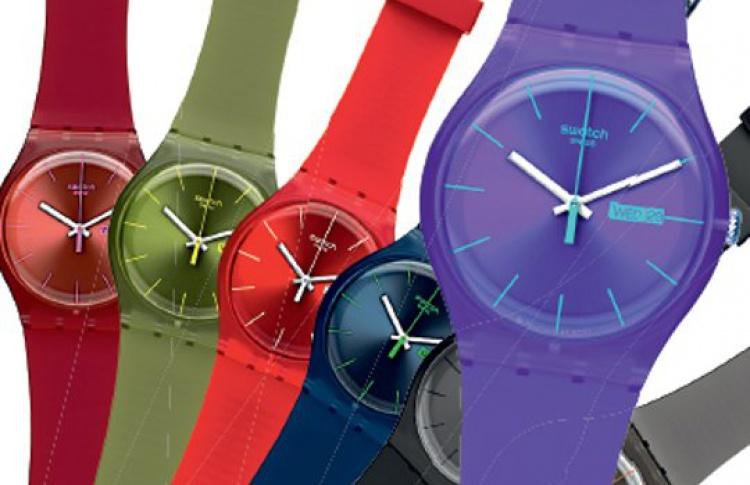 Новая модель Swatch