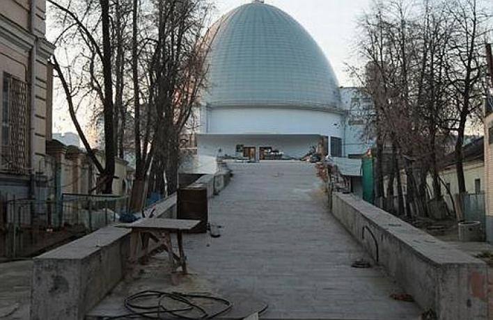 Московский планетарий откроют спустя 17лет