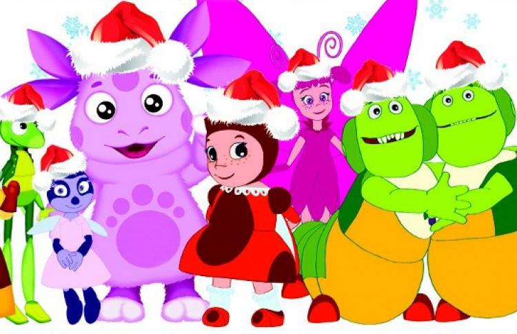 Новогодние приключения Лунтика и его друзей