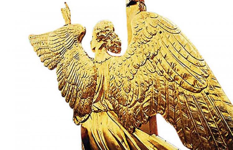 Ангел нашпиле Петропавловской крепости мог выглядеть по-другому