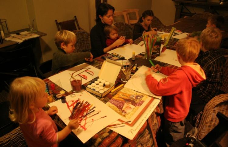 Детская лаборатория: подготовка к Новому Году