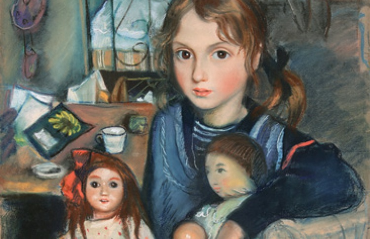 Зинаида Серебрякова. Детский портрет
