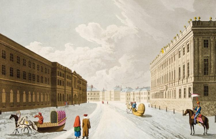 Петербург глазами англичан