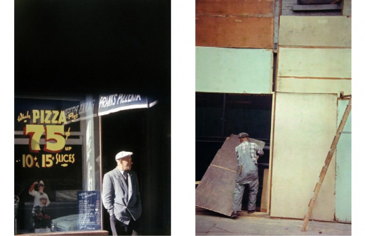 "Сол Лейтер ""Ранний цвет. Фотографии 1950-1960х годов"""