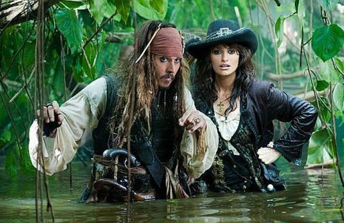 Вышел первый трейлер фильма «Пираты Карибского моря 4»