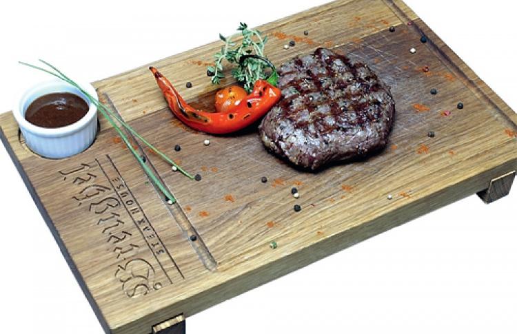 ВBreughel Steak House делят цены пополам