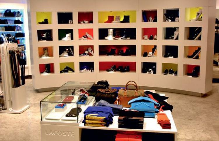 Новый магазин Lacoste