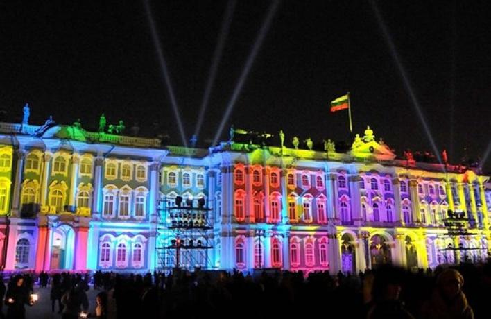Фестиваль музыкальных световых видеопроекций