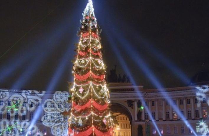 Новогодняя ночь наДворцовой площади