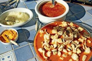 Буйабес иделикатесные рыбные супы