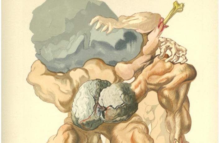 Выставка Сальвадора Дали. Иллюстрации к«Божественной комедии» Данте.