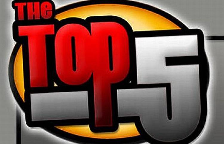 Топ 5популярных видео наYouTube в2010 году