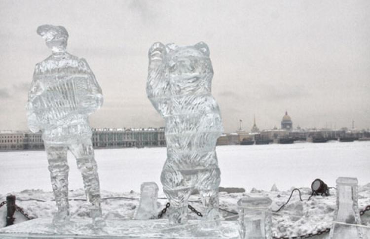 """Ежегодный фестиваль ледовых скульптур """"Империя льда"""""""