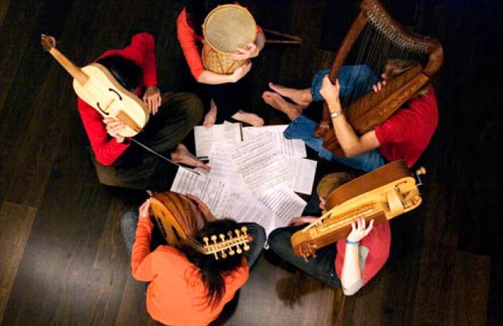 Концерт ансамбля Laterna Magica, задуманный специально для маленьких детей
