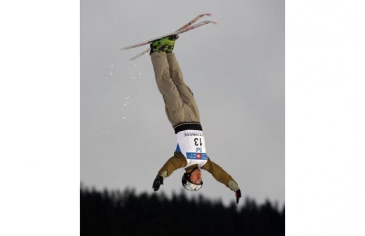 Московский этап Кубка мира по лыжной акробатике