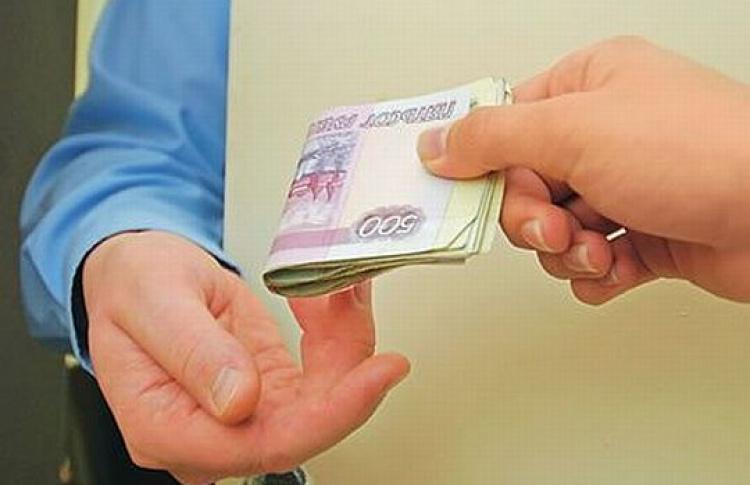 Средняя взятка вМоскве— более 500 тысяч рублей