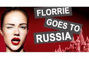 Florrie goes toRussia