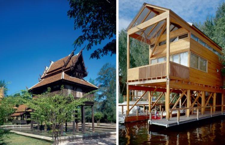 Архитектор Уилл Прайс выставил деревянные дома вашей мечты