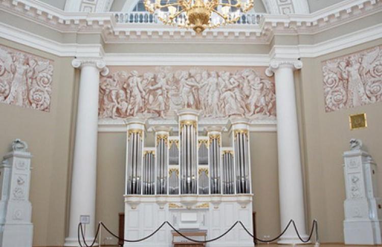 Торжественная презентация нового органа в Таврическом дворце