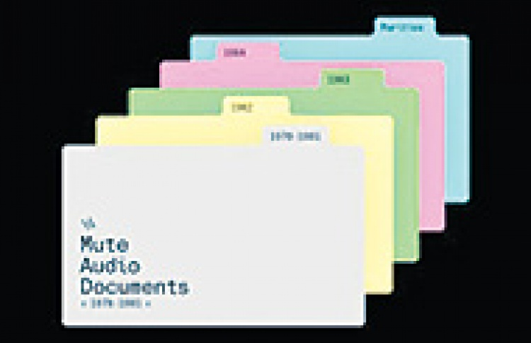 "Various Artists ""Mute Audio Documents 1978-1986"""