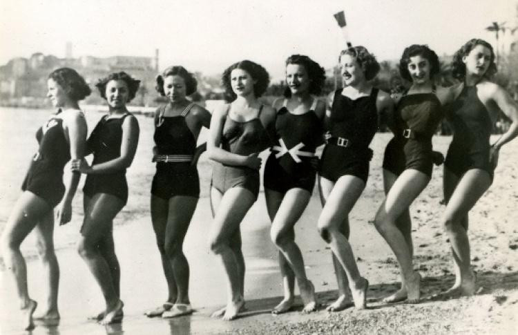 Довиль. Пляжная мода эпохи ар деко
