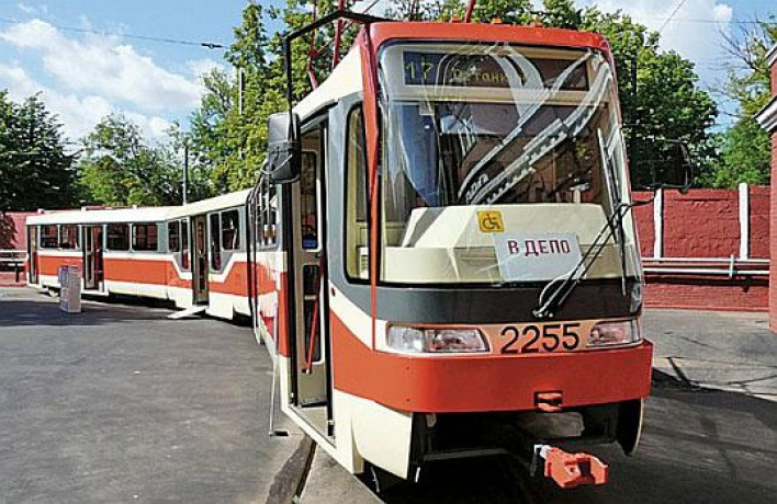 Скоростной трамвай запустят уже вэтом году