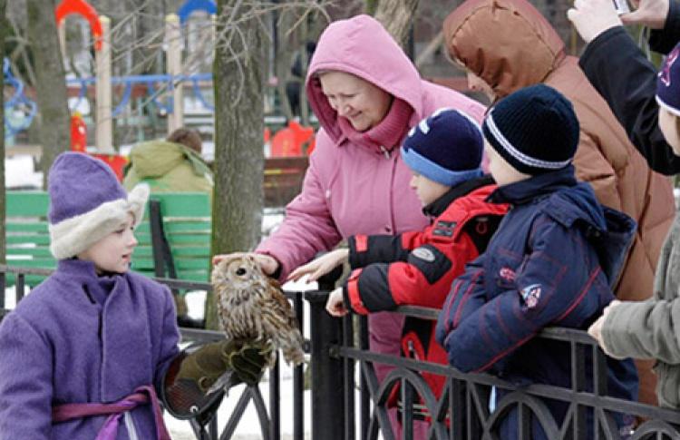 Неделя птиц в Зоопарке