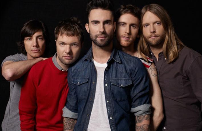 Концерт группы Maroon 5переносится наосень