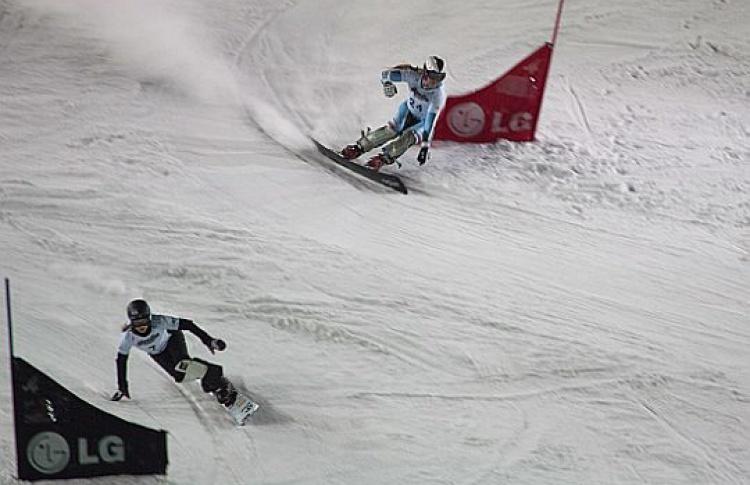 Кубок мира посноуборду приехал наВоробьевы горы