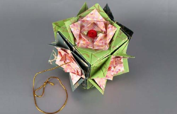 Оригами-кусудама