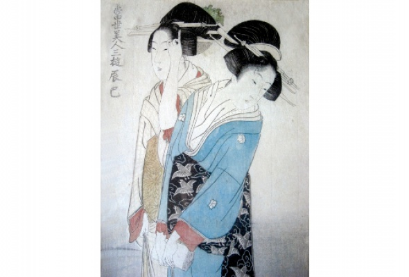 Японская гравюра - Фото №0