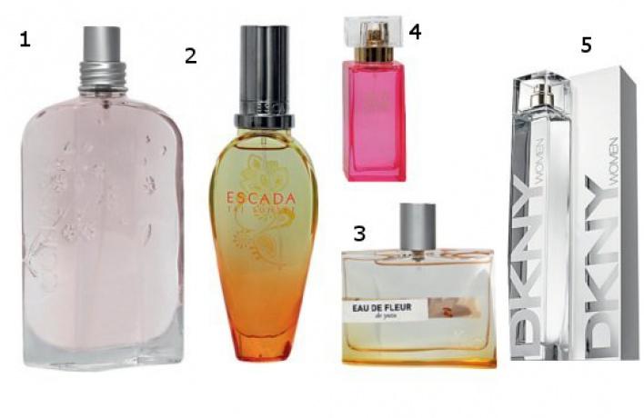 Пять весенних ароматов
