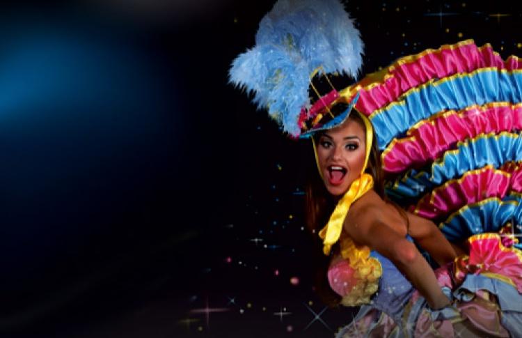 Вокально-танцевальное шоу в стиле кабаре Premier